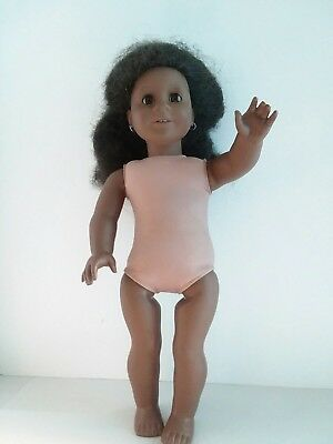 American Girl Doll Addy Pleasant Company hair is a mess for repair