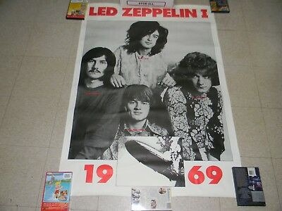 Led Zeppelin I  Rare 1969 Tour  Large Poster  (Printed In Great Britain)