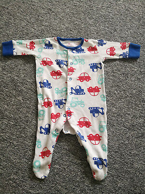 Next Baby Boy Sleepsuits 0-3 Months 4 Items