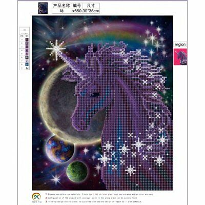Horse Pattern 5D Diamond Painting DIY Embroidery Cross Stitch Home Decor 550 DRB