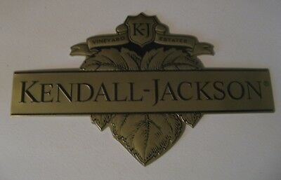 """Kendall-Jackson Vineyards & Winery metal sign~14-5/8""""x8-3/4""""~exc.cond."""