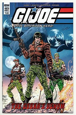 GI Joe A Real American Hero #257 Cvr B (IDW, 2018) NM