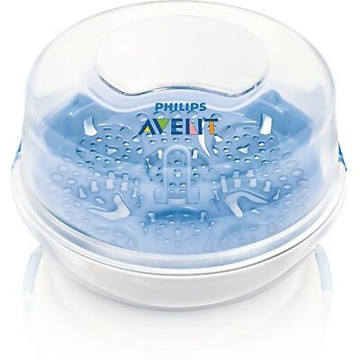 Philips AVENT Microwave Steam Sterilizer New