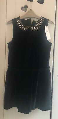 Girls Playsuit. M&S.Size 9-10. Christmas Party Outfit. NewNext Day Post