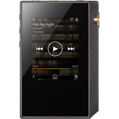 New Pioneer XDP-30R Portable High-Resolution Digital Audio Player Black