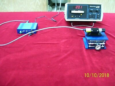 Coherent Bio-Ray 488 nm 20 mW Diode Laser with adjustable focus. Low Hours!