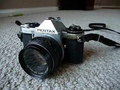 Pentax ME Super 35mm film Camera body with 50mm Pentax-M 1:2 (F/2)