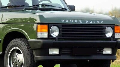 *** Range Rover Classic Decal Set - Bonnet & Tailgate SILVER (RTC6465)***