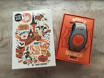 Disney Mickey's Not So Scary Halloween Party Magic Band Limited 2018 NWT