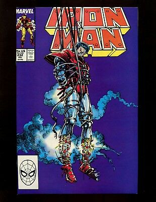 "Iron Man #232 VF+ Barry Smith Layton Jim ""Rhodey"" Rhoads"