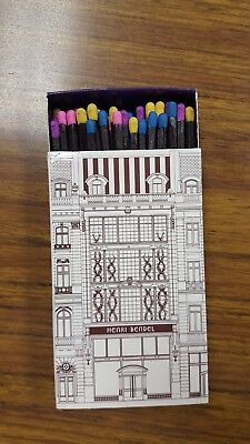 Authentic Henri Bendel matchbox complete & unstruck