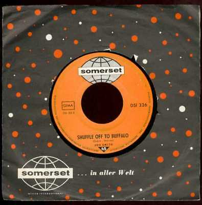 """Oldie Single 7"""" Joe Smith - There's the time to fall in love"""