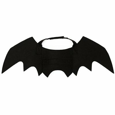 Pet Cat Bat Wings For Halloween Party Puppy Collar Leads Cosplay Bat Costume Q