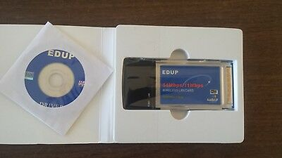 EDUP PCMCIA 54MBPS DRIVERS FOR PC