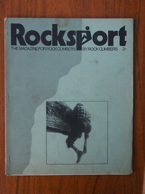 ROCKSPORT - early copies of the late '60s climbing magazine including the first!