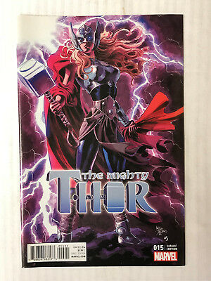Mighty Thor #15 - 1:10 Variant! VF - Deodato Cover!