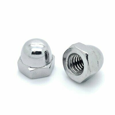 40 Qty 5/16-18 Stainless Steel Acorn Hex Cap Nuts (BCP763)