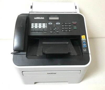 Brother Fax 2840 Intellifax-2840 Fax2840 High-Speed Laser Fax Machine *13K Count