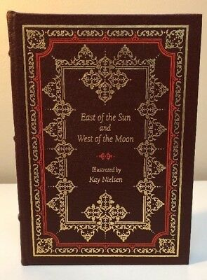 East of the Sun and West of the Moon Easton Press leather Illustrated leather