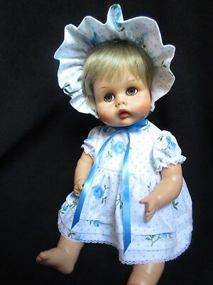 "3 Piece Dress Set For 17"" American Character Tiny Tears Doll"