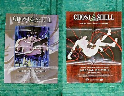 """Ghost in the Shell Special Edition Double Sided Poster 18""""x14"""" Mamoru Oshii"""