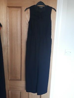 Next Black Sleevless Jumpsuit Size 8 Years