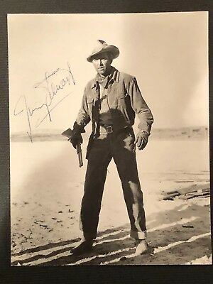 Authentic Vintage Autographed Photo Of Jimmy Stewart