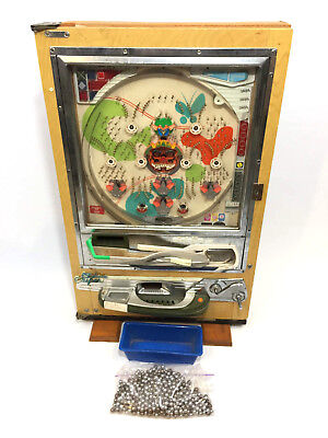 "Vintage Japanese Nishjin Pachinko Pinball Machine ""Its A Beautiful Day"" w/balls"