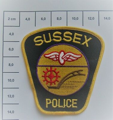 Polizei  / Police Patch - USA - New Jersey - Sussex