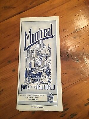 Vintage Montreal MAP