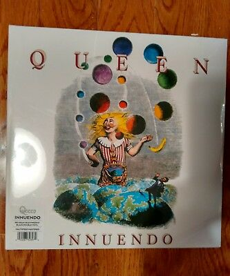 QUEEN INNUENDO VINYL LP NEW SEALED 180 gram