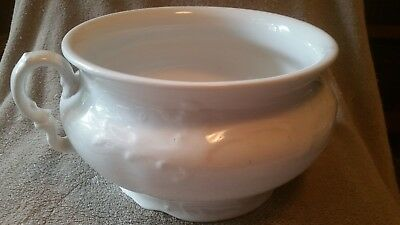 Antique Chamber Pot  K.T.&K. (Knowles, Taylor, and Knowles)
