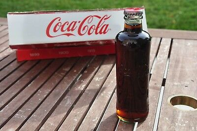 COCA COLA Full Bottle Year1899 Authentic CollectionSerie from EUROPE 8,45oz COKE