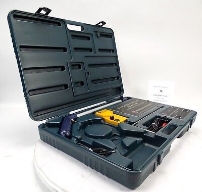 Psiber CT200 Underground Cable & Pipe Tracker 8ft Detect High Low Frequencies