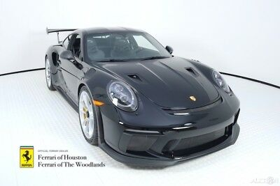 2019 Porsche 911  2019 Porsche 911 GT3 RS Weissach Package, Black over Black, 20 Miles, $289,995