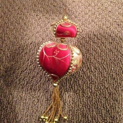 Oriental Asian Christmas Hanging Ornament