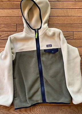 Patagoina Synchilla fleece boys Medium (10) EUC