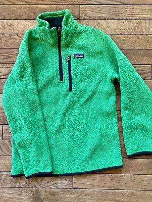 boys/unisex  Patagonia Better Sweater 1/4 zip up EUC
