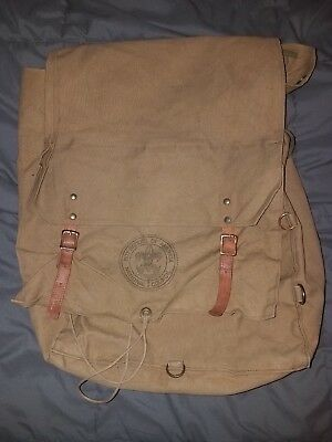 Vintage Boy Scouts Of America Backpack 574 Yucca Pack