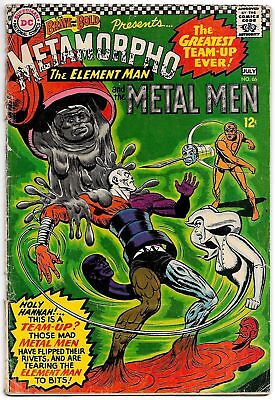 Brave and the Bold #66 Metamorpho and Metal Men (DC, 1966) GD/VG