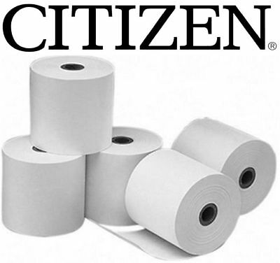 24 x Thermal Paper Receipt/Docket Rolls 80.80mm Citizen CT-S310,S651,CBM1000 POS