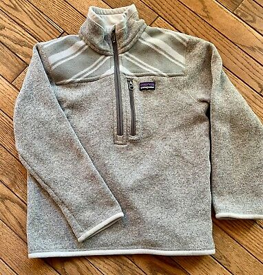 Boys Patagonia Better Sweater Size 8 Good Used Condition