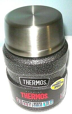 NEW THERMOS 16oz Stainless Steel Vacuum Insulated Food Jar with Folding Spoon