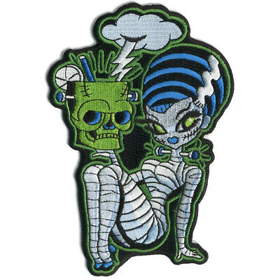 Franken Mermaid Embroidered Patch NEW Authentic RETRO-A-GO-GO