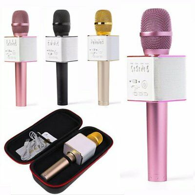 Q9 Wireless Bluetooth KTV Karaoke Microphone Speaker With USB Home Party Use US