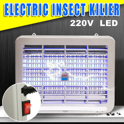 2W LED Electronic Indoor Mosquito Insect Killer Light Bug Fly Zapper Trap