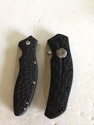 Lot of 2 Kershaw Pocket Knives - 3812 Thistle - 1830 OSO Sweet