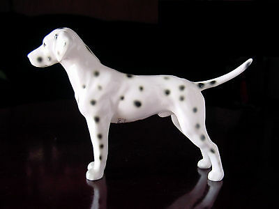"DETAILED Vintage? 7"" Long Lefton Porcelain Ceramic Dalmatian Dog FiGuRiNe Statue"