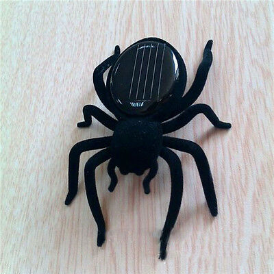Spider Tarantula Trick Toy Solar Power Educational Robot Scary Insect Gadget