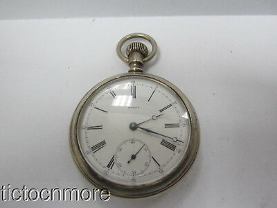 ANTIQUE OMEGA 15j ROMAN SECONDS DIAL POCKET WATCH  No 2105782
